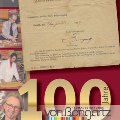 Wir feiern 100 Jahre von Bongartz