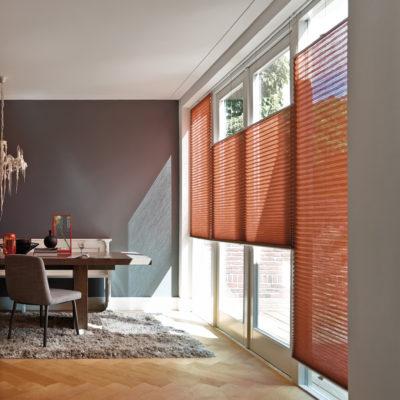 Das Plissee – ein Allrounder für jede Fensterform